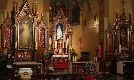 Kaplica z cudwonym obrazem JM